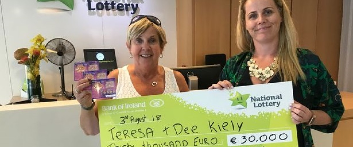 Irish Mother and Daughter Win €30,000 Scratch Card Prize Just Before going on Holiday