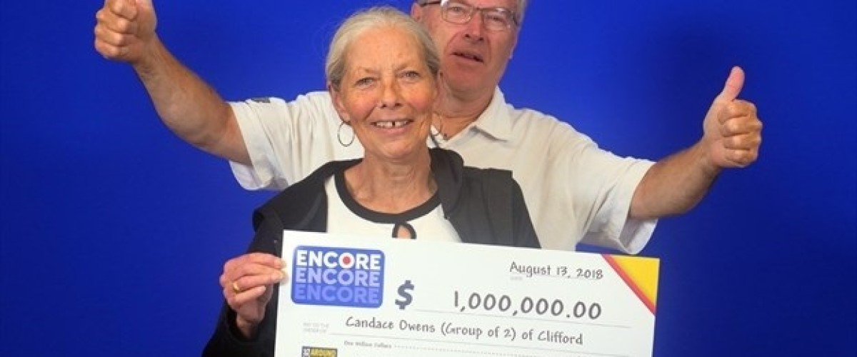 A Pot of Gold for $1m Lotto Max Winning Couple