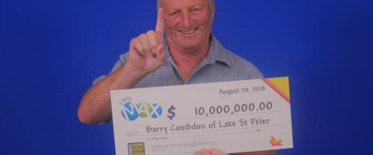 Canadian father of one is shocked to discover $10 million Lotto Max win