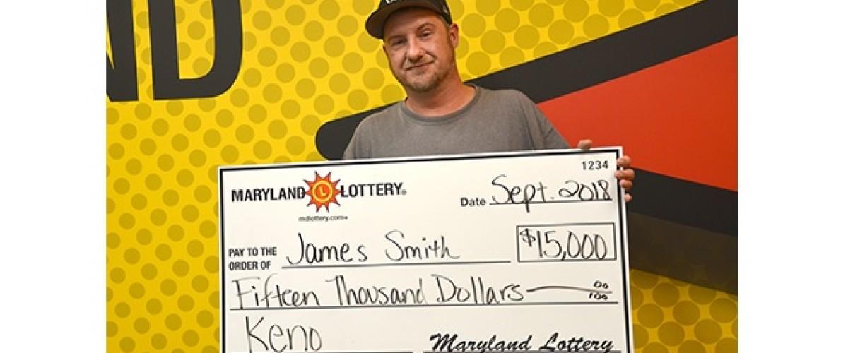 Couple Win $15,000 Keno Prize on their way to the Beach