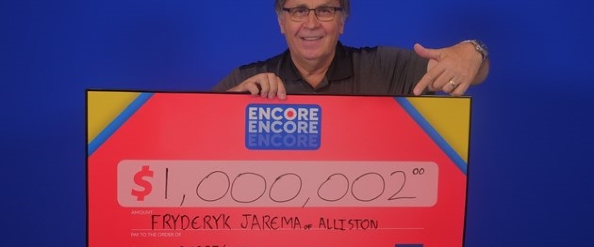 Advice from Wife Leads to $1,000,002 Lotto 6/49 Encore Win