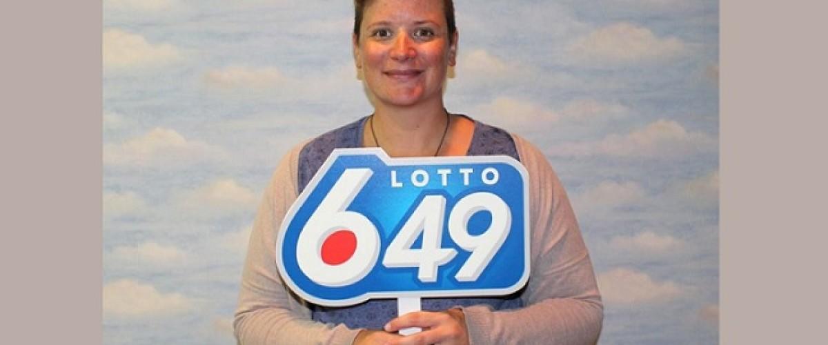 Lotto 649 winner heard about outstanding winner, but didn't think it was her