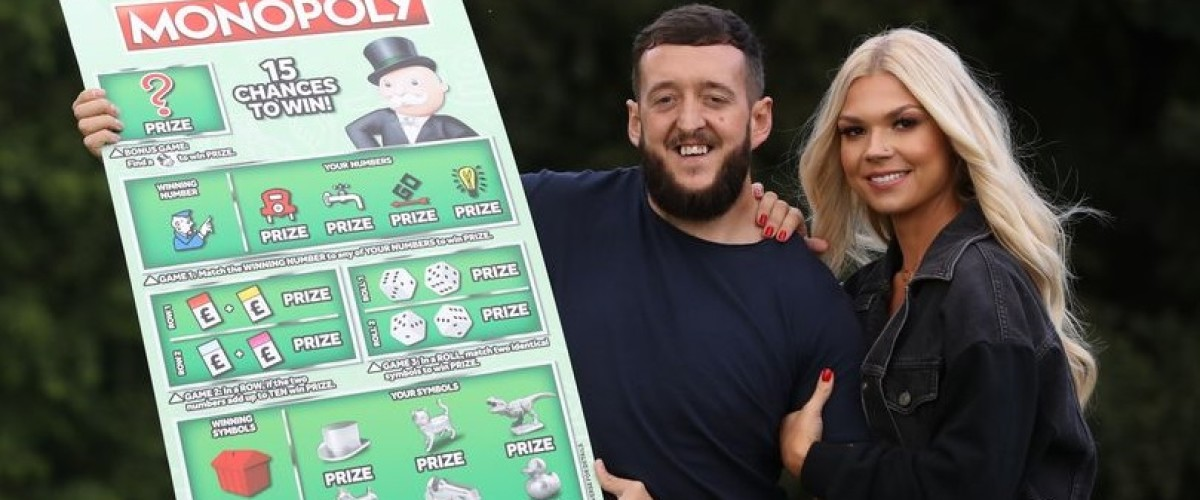 A Pint of Milk and a £1m Winning Scratchcard Please