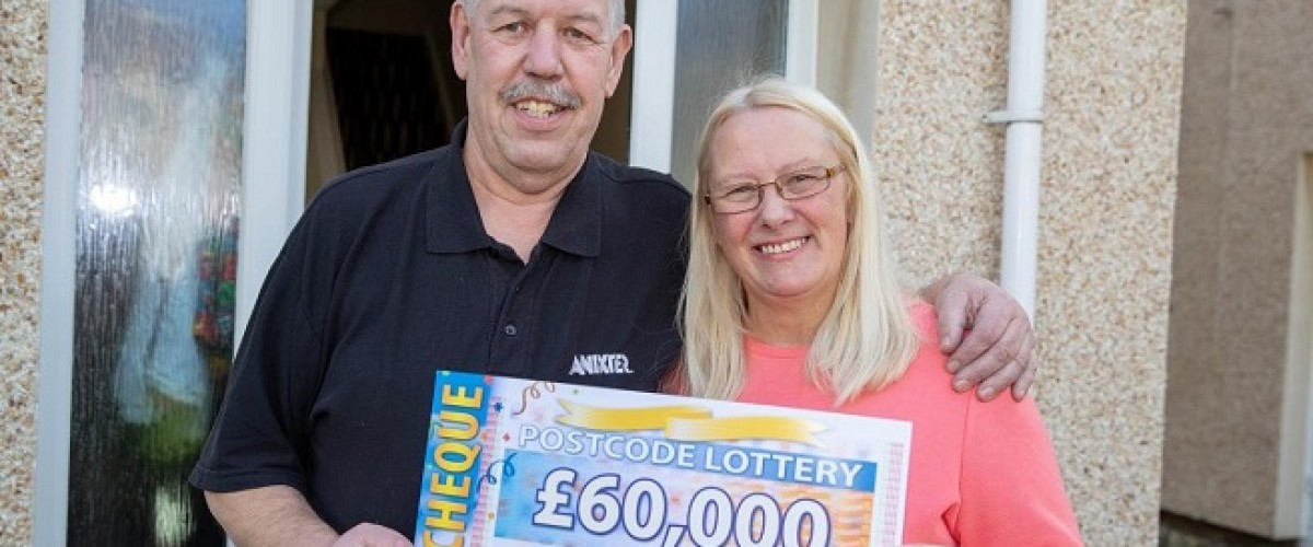 Dunfermline neighbours share £210,000 People's Postcode Lottery prize