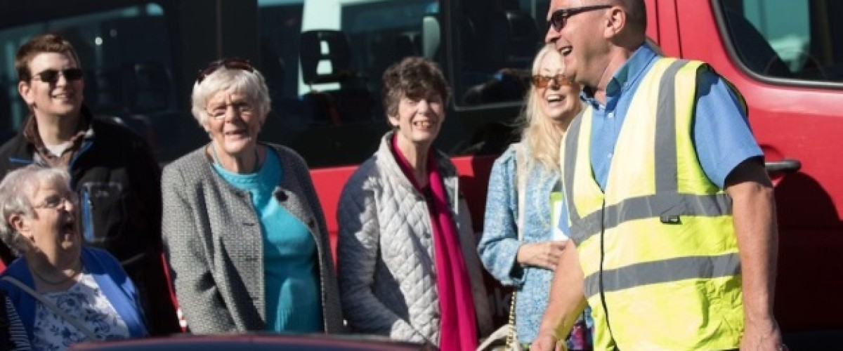 National Lottery funded charity worker enjoys big surprise