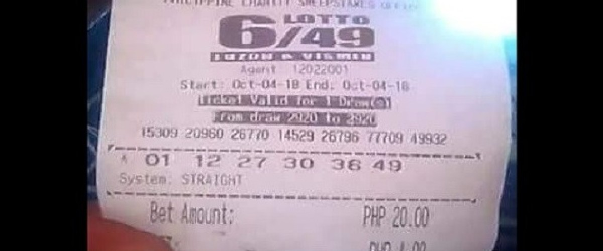 Right Numbers But Wrong Lottery for a Filipino Player
