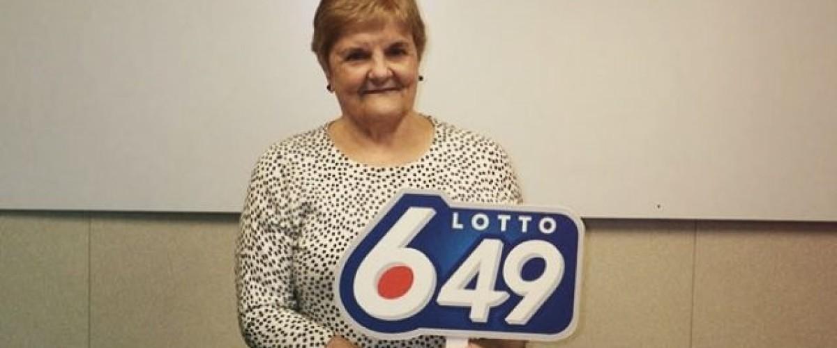 Edmonton's latest Lotto 6/49 millionaire didn't trust her own judgement
