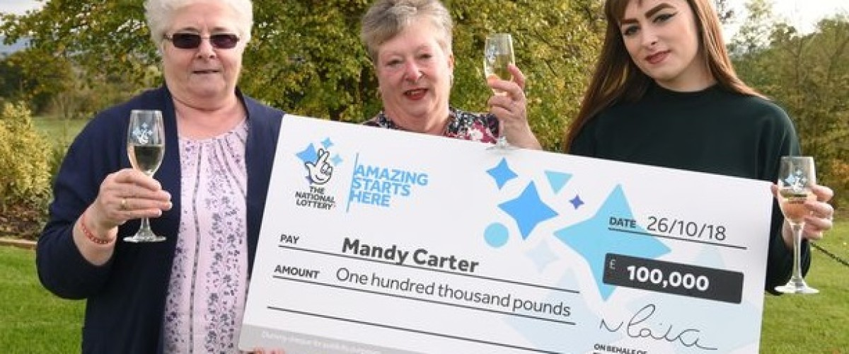 Extra Naan Bread for £100,000 National Lottery Scratchcard Winner