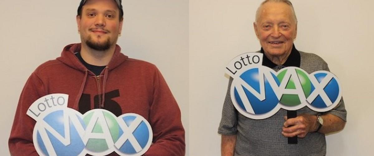 Two Winnipeg Winners Celebrate $1m Lotto Max Windfalls