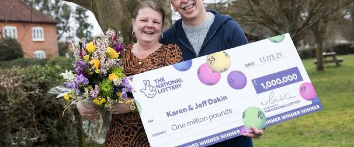 Tough Times over for £1 million UK Lotto Winner
