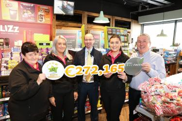 euromillions prize claimed store