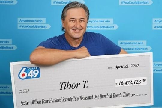Canadian Man Wins Lotto 6/49