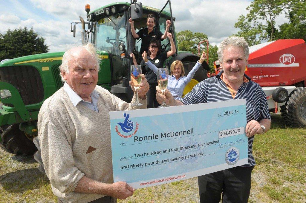 john mcdonnell prize cheque