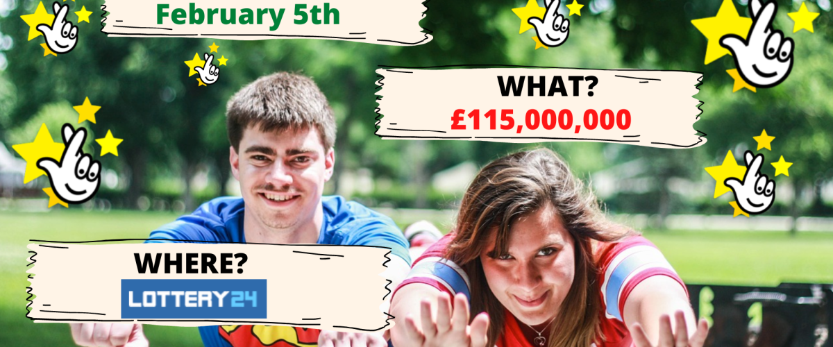 €130m EuroMillions Superdraw on February 5th