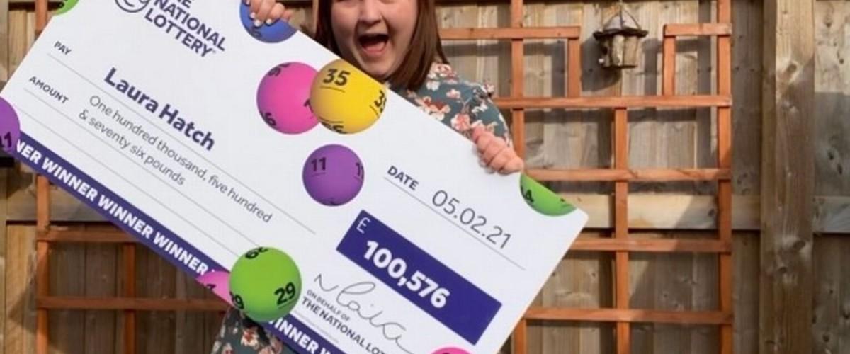 New Home for £100k EuroMillions Winner