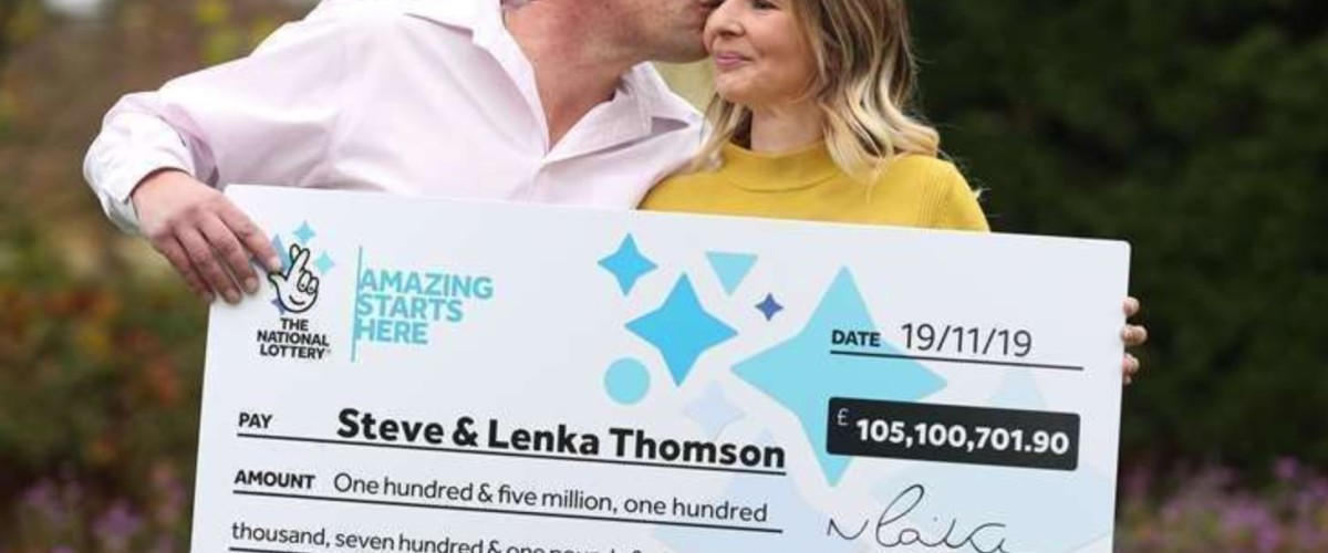 Luxury Home and DIY for £105m EuroMillions Winner