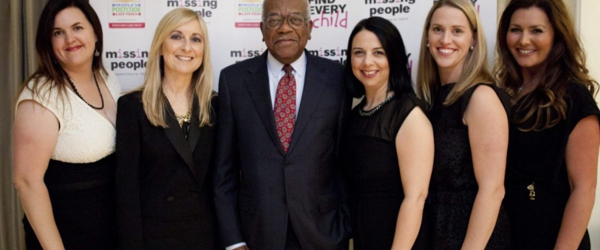 People's Postcode Lottery Supporting Missing People Charity