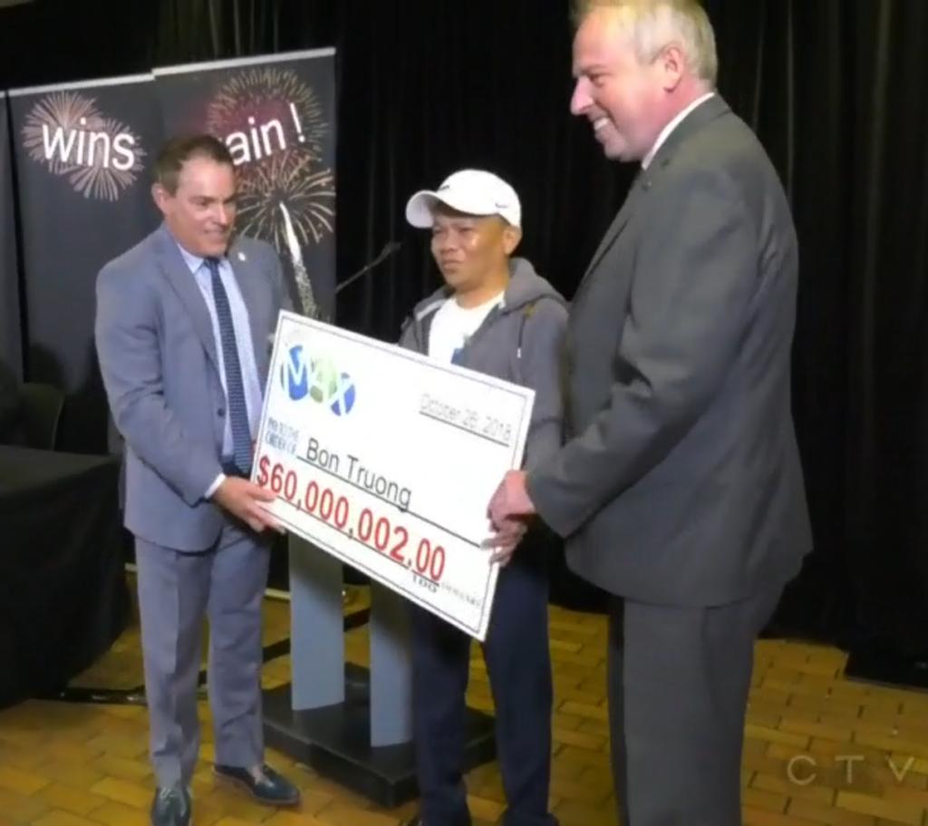 Bon Truong lottery numbers winner