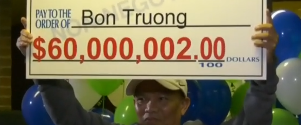 Playing the same lottery numbers for 30 years pays off for Lotto winner
