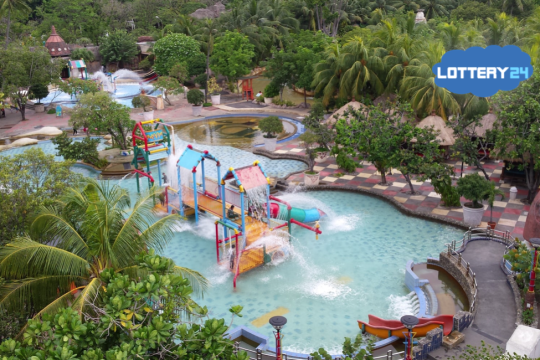 New Water Park Opened after Donation by Mega Millions Lottery winners