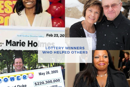 How Five Lottery Winners Helped Others