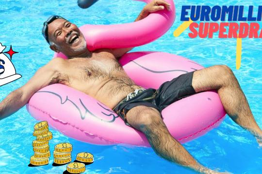 €220m (£184m) EuroMillions Jackpot Tomorrow
