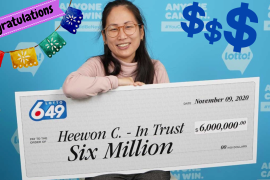 No Halloween Horror for $6m Canadian Lotto 6/49 Winners