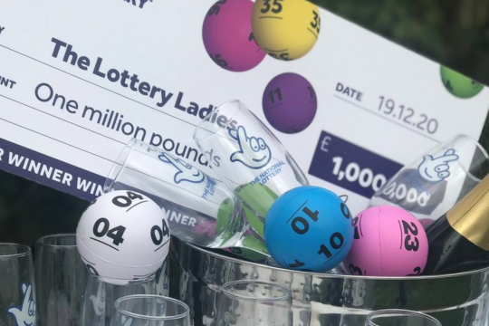 Online Celebrations for £1m winning Lottery Ladies