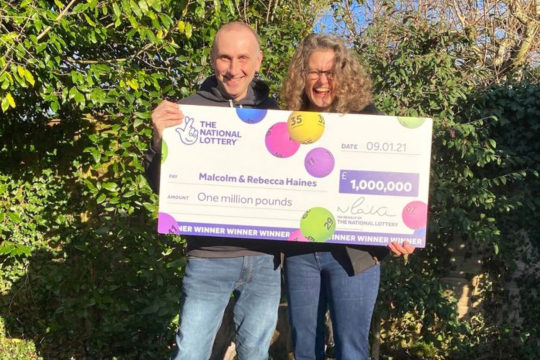 £1m UK Lotto Winner Scared Dog Might Eat his Ticket