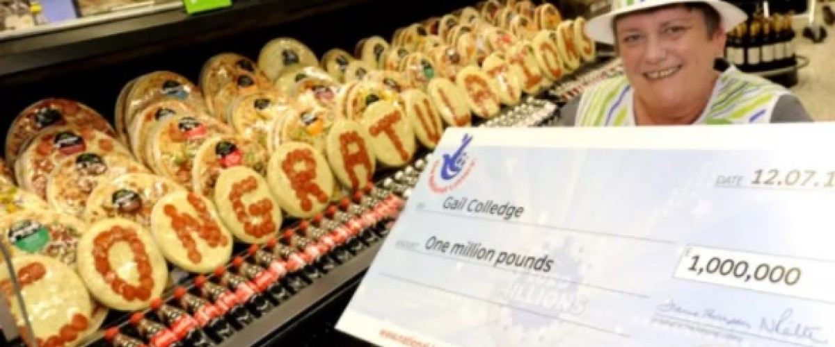 Small change leads to £1m win on EuroMillions