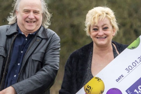 Treat For Mr Bobby Boo after £1m UK Lotto Win