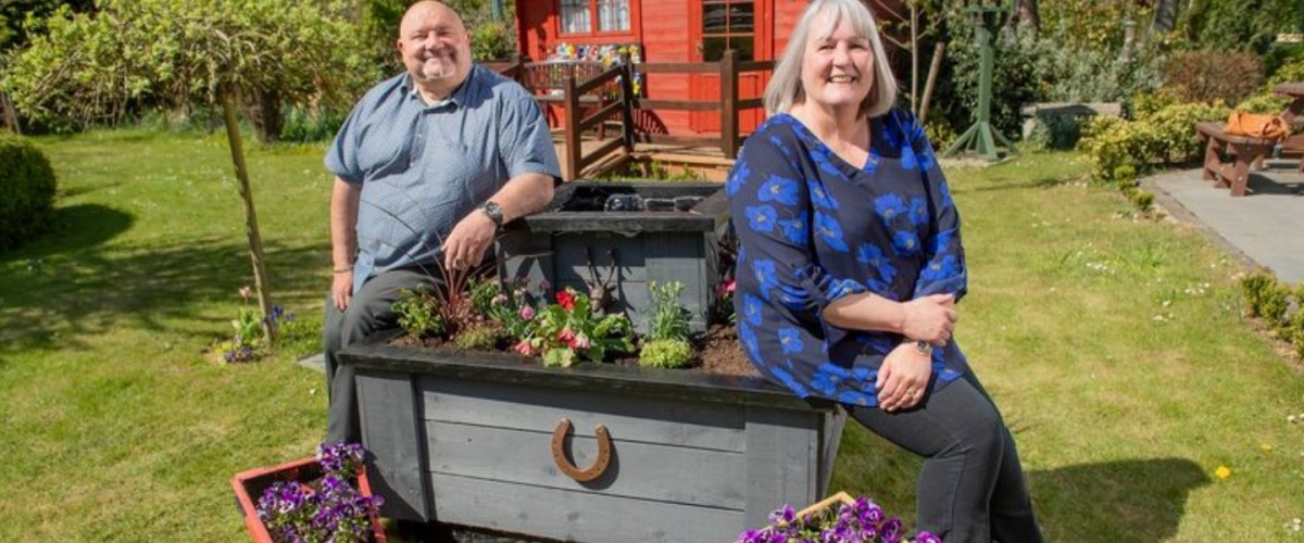 UK Lotto Winners Build Water Feature for Hospice