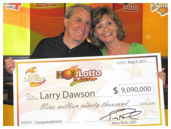 lottery winner sues larry dawson