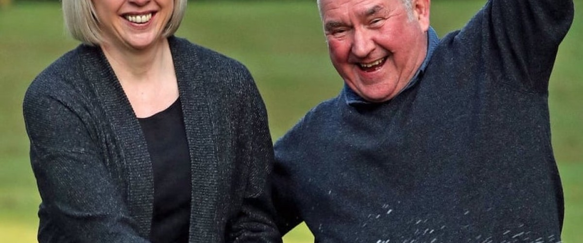 Lottery winning couple in luck as son is also declared free of cancer