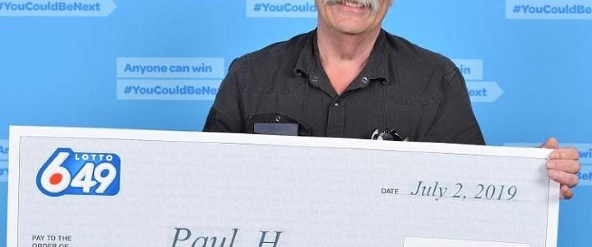 That Lottery winner feeling for $1 million Lotto 649 win
