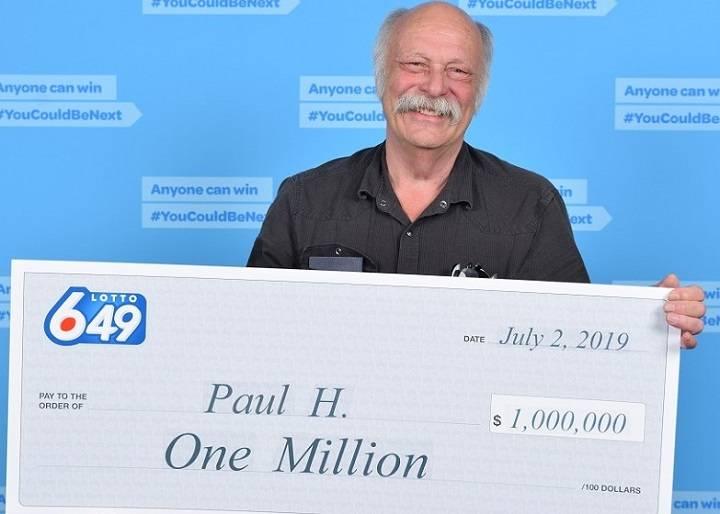 lottery winner paul