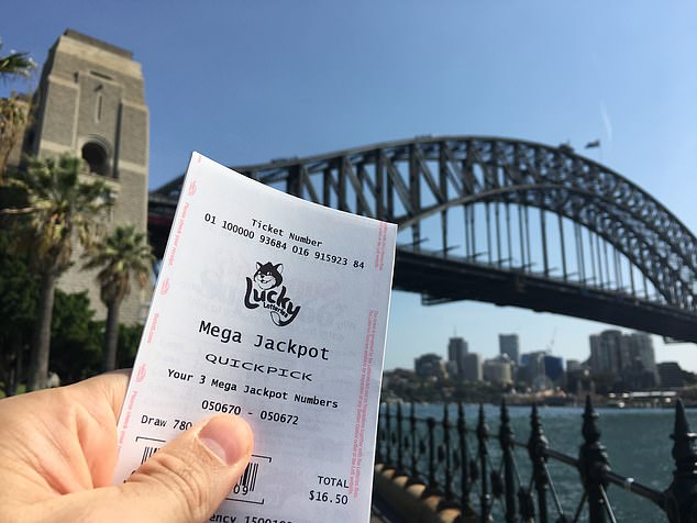 syndey bridge lottery ticket