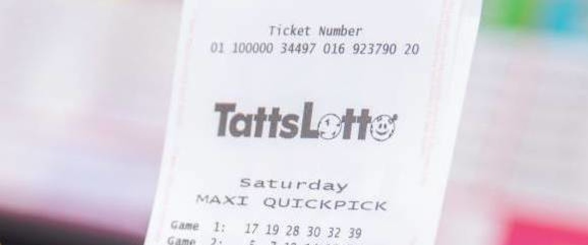 Tatts Lotto jackpot winner thought she'd missed out