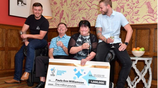 euromillions windfall family