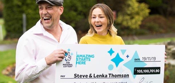 Steve and Lenka Thomson