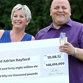 euromillions winner adrian bayford