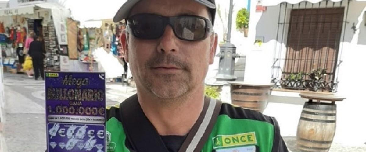 Un albañil compra tres rascas de la ONCE durante un descanso en la obra y gana un millón de euros