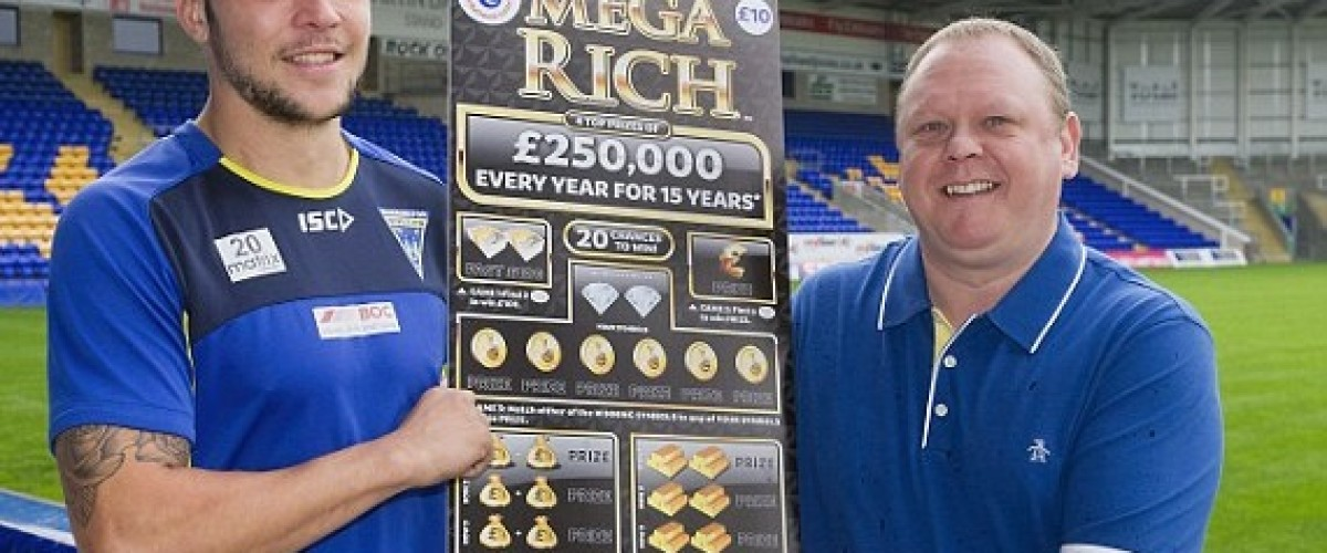 Ganador de la lotería de rasca y gana en shock por ganancia impresionante