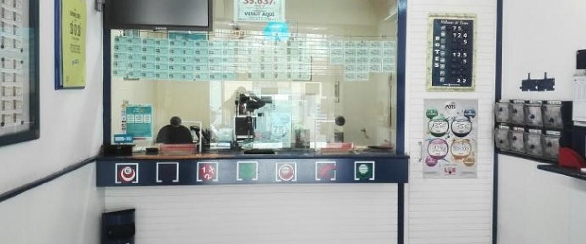 El pasado sábado la Bonoloto repartió casi 600 mil euros en Figueres