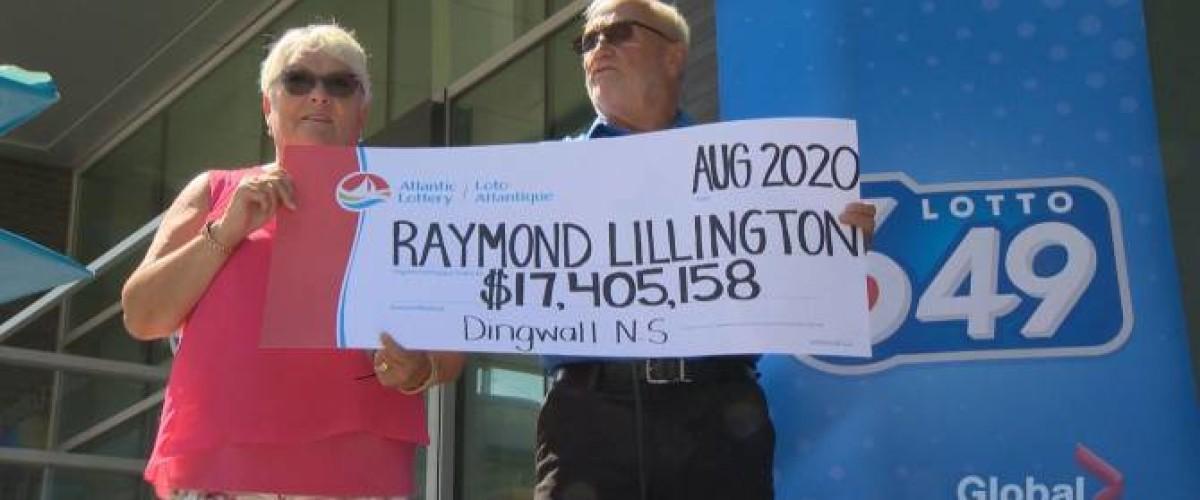 Una pareja logra más de 17 millones de dólares en la Loto 649 canadiense