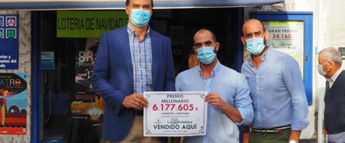 Un jugador de Sevilla se lleva más de 6 millones de euros en La Primitiva