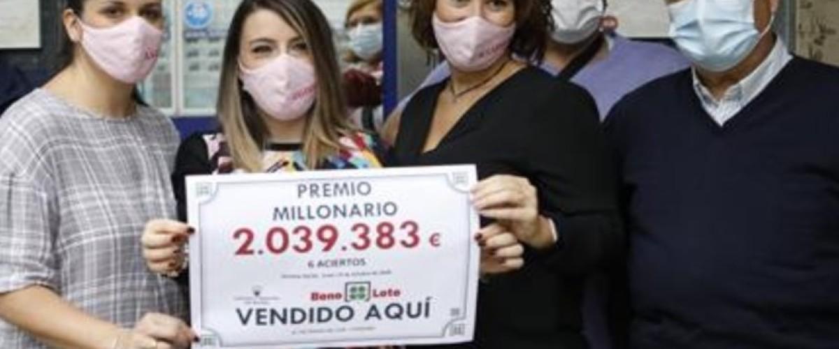 Un cordobés se embolsa más de 2 millones en la Bonoloto