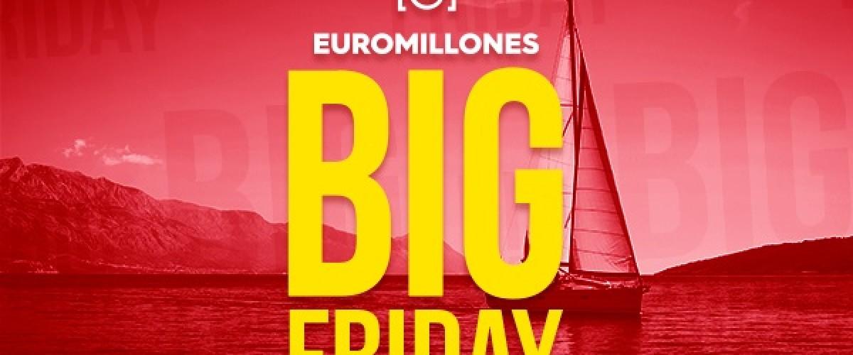 Nuevo sorteo del Big Friday del Euromillones el 20 de noviembre