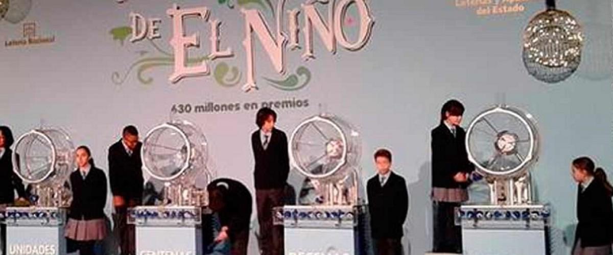 Datos y curiosidades de la Lotería del Niño