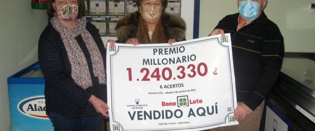 La Bonoloto reparte un bote de 1.240.329 euros en Castro de Rei